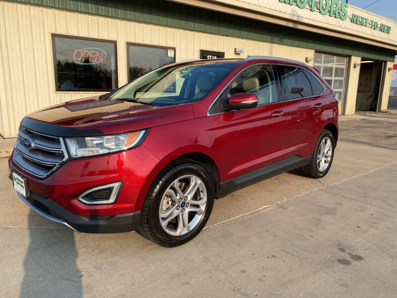 2017 Ford Edge for sale at Murphy Motors Next To New Minot in Minot ND