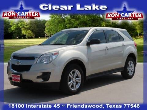 2014 Chevrolet Equinox for sale at Ron Carter  Clear Lake Used Cars in Houston TX