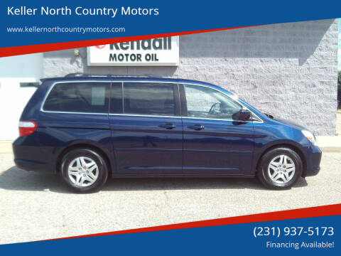 2007 Honda Odyssey for sale at Keller North Country Motors in Howard City MI