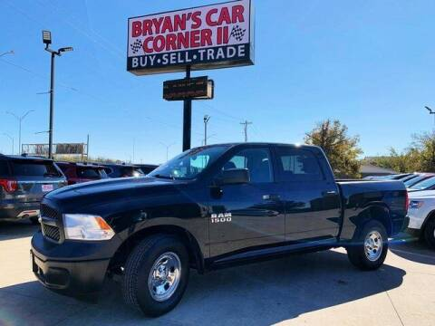 2016 RAM Ram Pickup 1500 for sale at Bryans Car Corner in Chickasha OK