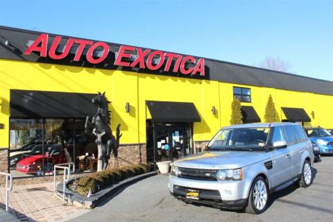 2013 Land Rover Range Rover Sport for sale at Auto Exotica in Red Bank NJ