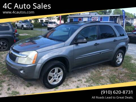 2005 Chevrolet Equinox for sale at 4C Auto Sales in Wilmington NC