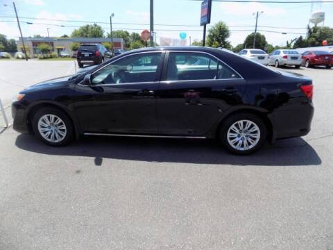 2012 Toyota Camry for sale at Pro-Motion Motor Co in Lincolnton NC