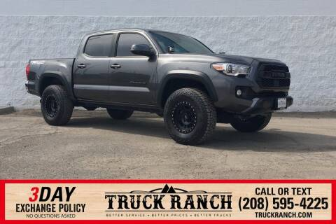 2018 Toyota Tacoma for sale at Truck Ranch in Twin Falls ID