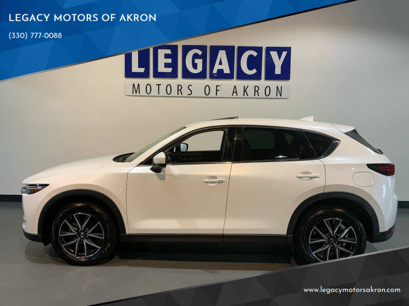 2018 Mazda CX-5 for sale at LEGACY MOTORS OF AKRON in Akron OH