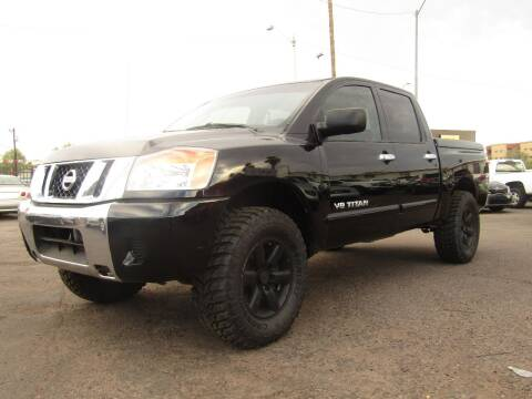 2008 Nissan Titan for sale at More Info Skyline Auto Sales in Phoenix AZ