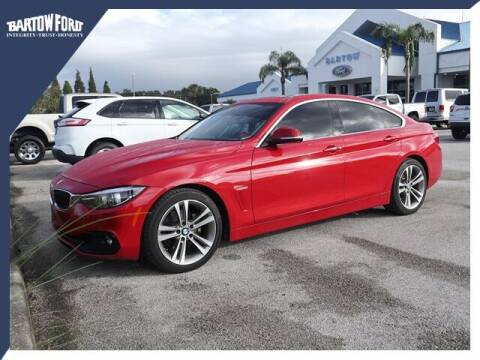2018 BMW 4 Series for sale at BARTOW FORD CO. in Bartow FL