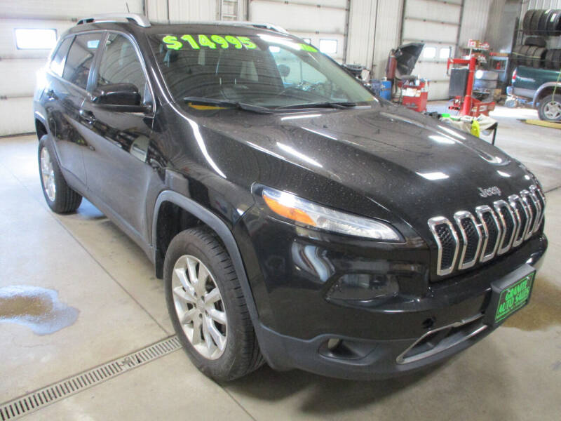 2015 Jeep Cherokee for sale at Granite Auto Sales in Redgranite WI