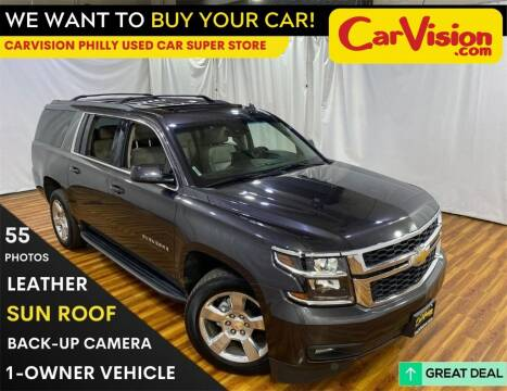 2017 Chevrolet Suburban for sale at Car Vision Mitsubishi Norristown - Car Vision Philly Used Car SuperStore in Philadelphia PA