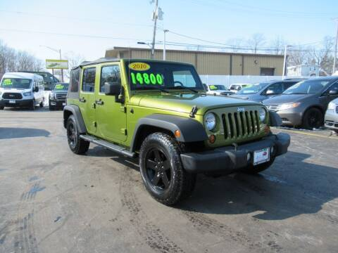 2010 Jeep Wrangler Unlimited for sale at Auto Land Inc in Crest Hill IL