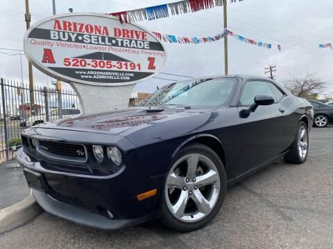 2012 Dodge Challenger for sale at Arizona Drive LLC in Tucson AZ