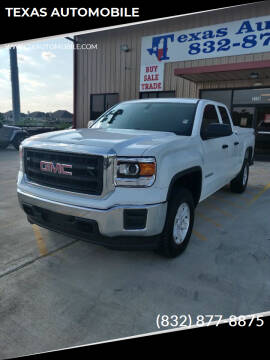 2014 GMC Sierra 1500 for sale at TEXAS AUTOMOBILE in Houston TX