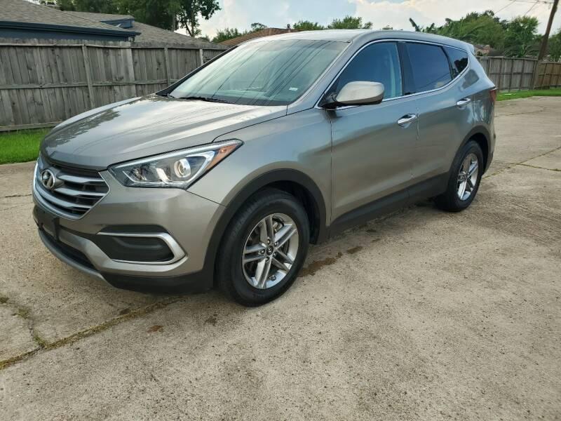 2018 Hyundai Santa Fe Sport for sale at MOTORSPORTS IMPORTS in Houston TX
