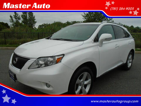 2011 Lexus RX 350 for sale at Master Auto in Revere MA