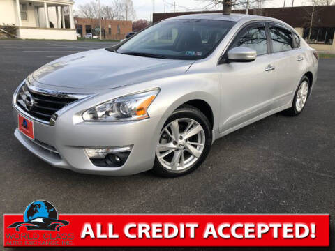 2015 Nissan Altima for sale at World Class Auto Exchange in Lansdowne PA