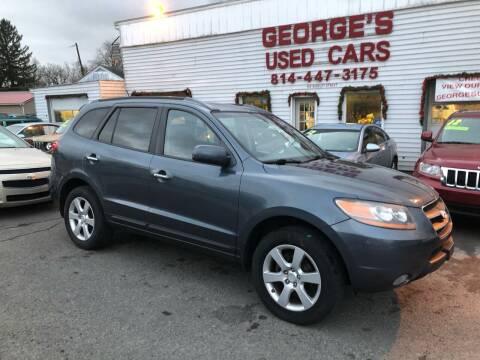2008 Hyundai Santa Fe for sale at George's Used Cars Inc in Orbisonia PA