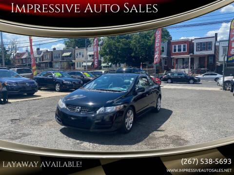 2010 Honda Civic for sale at Impressive Auto Sales in Philadelphia PA