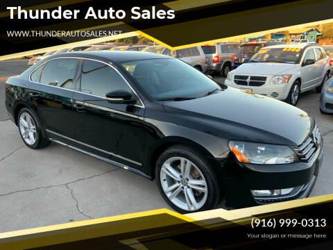 2015 Volkswagen Passat for sale at Thunder Auto Sales in Sacramento CA