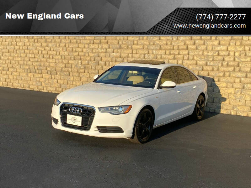 2012 Audi A6 for sale at New England Cars in Attleboro MA