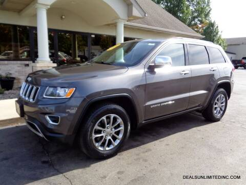 2015 Jeep Grand Cherokee for sale at DEALS UNLIMITED INC in Portage MI