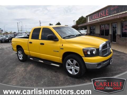 2008 Dodge Ram Pickup 1500 for sale at Carlisle Motors in Lubbock TX