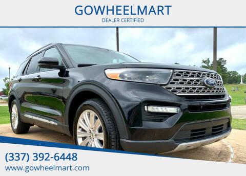 2020 Ford Explorer for sale at GOWHEELMART in Leesville LA