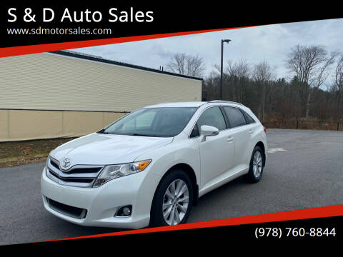 2015 Toyota Venza for sale at S & D Auto Sales in Maynard MA