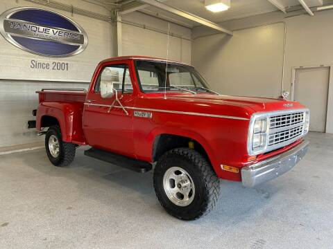 1979 Dodge RAM 150 for sale at TANQUE VERDE MOTORS in Tucson AZ