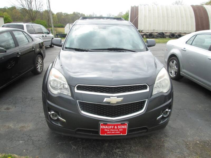 2010 Chevrolet Equinox for sale at Knauff & Sons Motor Sales in New Vienna OH
