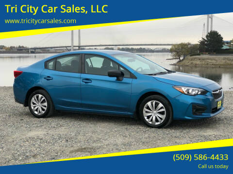 2017 Subaru Impreza for sale at Tri City Car Sales, LLC in Kennewick WA