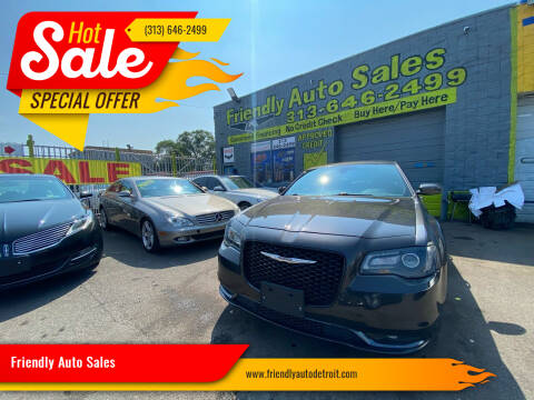 2019 Chrysler 300 for sale at Friendly Auto Sales in Detroit MI