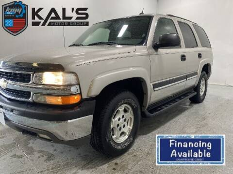 2005 Chevrolet Tahoe for sale at Kal's Kars - SUVS in Wadena MN