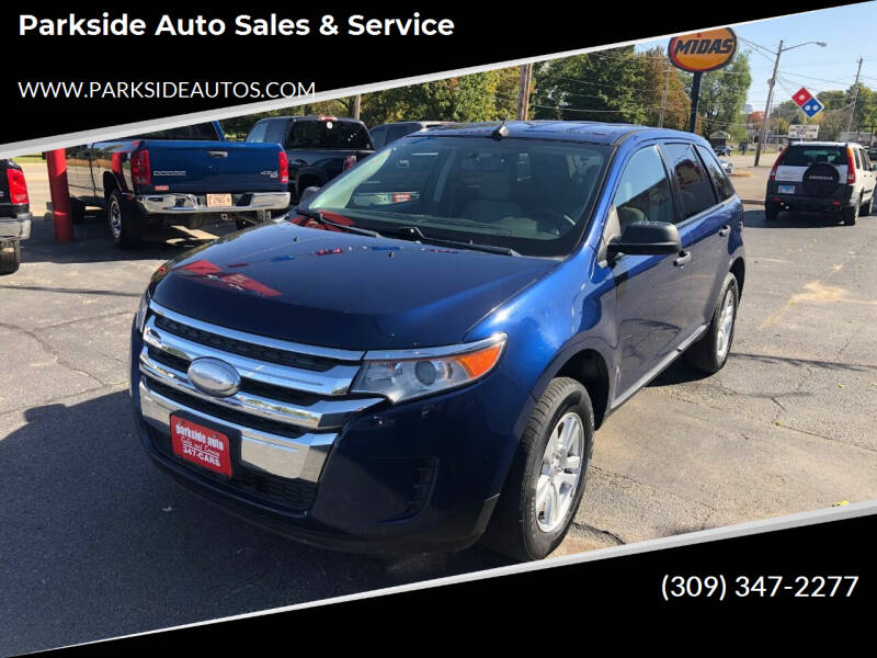 2012 Ford Edge for sale at Parkside Auto Sales & Service in Pekin IL