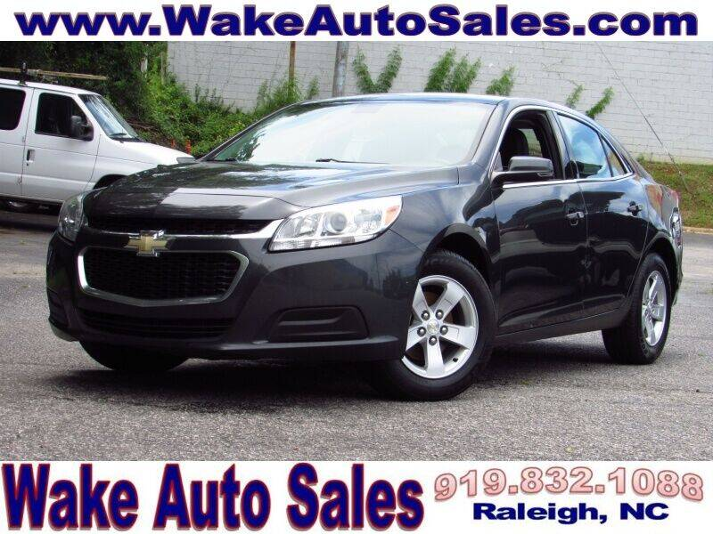 2016 Chevrolet Malibu Limited for sale at Wake Auto Sales Inc in Raleigh NC