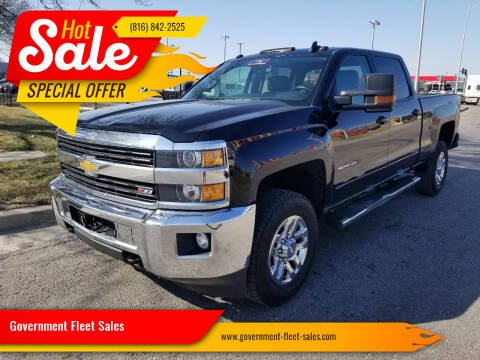 2015 Chevrolet Silverado 3500HD for sale at Government Fleet Sales in Kansas City MO