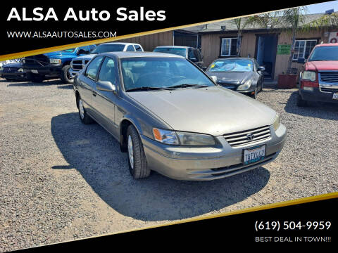 1998 Toyota Camry for sale at ALSA Auto Sales in El Cajon CA