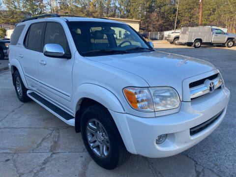 2007 Toyota Sequoia for sale at Elite Motor Brokers in Austell GA