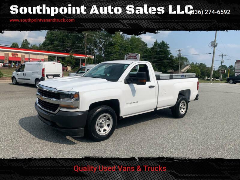 2016 Chevrolet Silverado 1500 for sale at Southpoint Auto Sales LLC in Greensboro NC