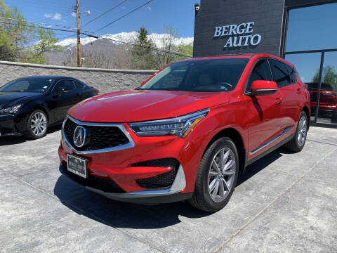 2020 Acura RDX for sale at Berge Auto in Orem UT