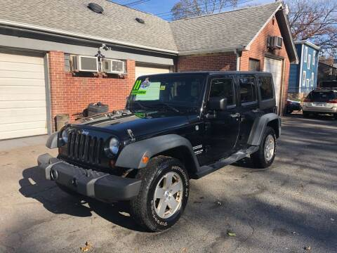 2011 Jeep Wrangler Unlimited for sale at Emory Street Auto Sales and Service in Attleboro MA