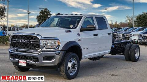 2020 RAM Ram Chassis 5500 for sale at Meador Dodge Chrysler Jeep RAM in Fort Worth TX