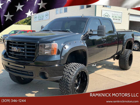 2008 GMC Sierra 2500HD for sale at RamKnick Motors LLC in Pekin IL