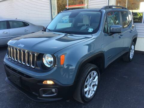 2017 Jeep Renegade for sale at Rinaldi Auto Sales Inc in Taylor PA