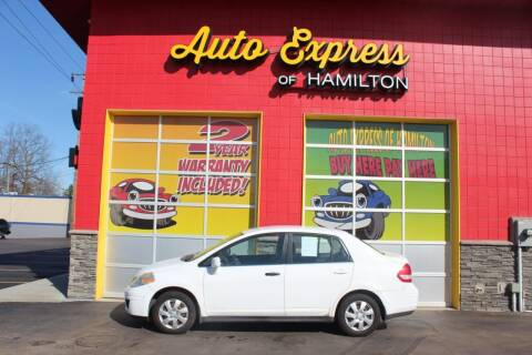 2008 Nissan Versa for sale at AUTO EXPRESS OF HAMILTON LLC in Hamilton OH