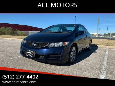 2010 Honda Civic for sale at ACL MOTORS in Austin TX