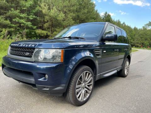 2011 Land Rover Range Rover Sport for sale at Carrera AutoHaus Inc in Clayton NC