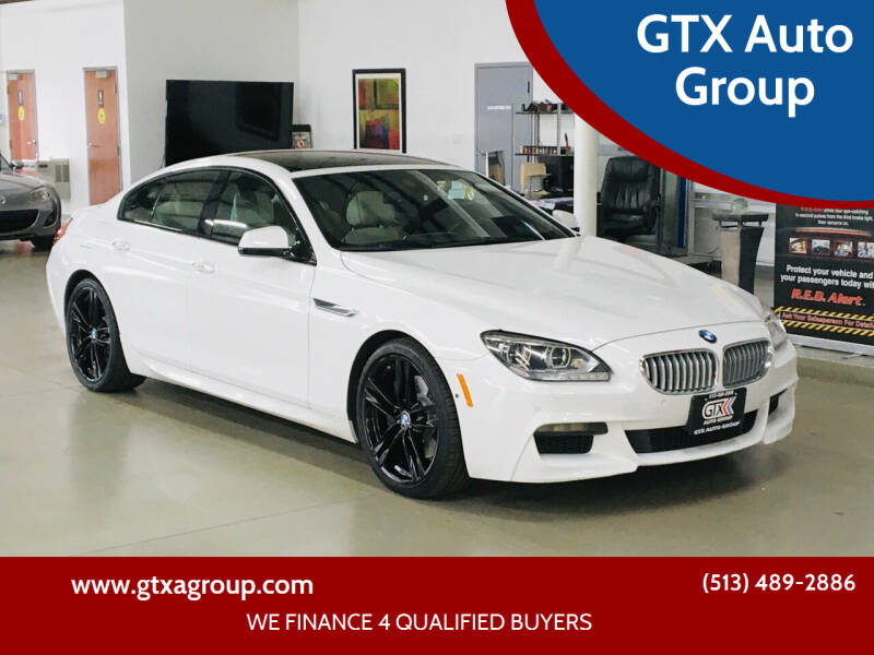 2014 BMW 6 Series for sale at GTX Auto Group in West Chester OH
