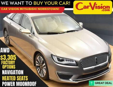 2018 Lincoln MKZ for sale at Car Vision Mitsubishi Norristown in Norristown PA