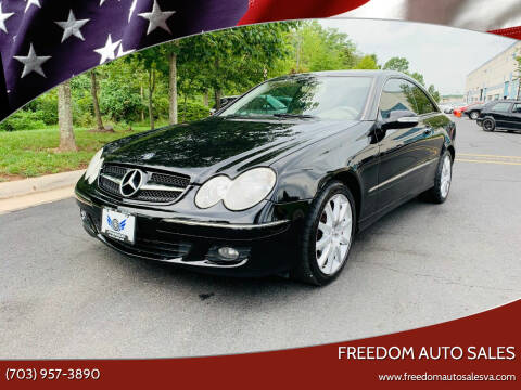2007 Mercedes-Benz CLK for sale at Freedom Auto Sales in Chantilly VA