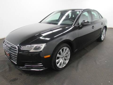 2017 Audi A4 for sale at Automotive Connection in Fairfield OH